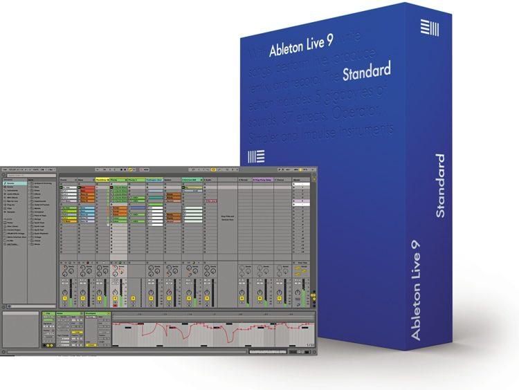 ableton ableton live 9 standard studentska verzija sonarscope pro audio. Black Bedroom Furniture Sets. Home Design Ideas