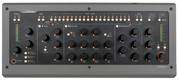 softube console1 mkii top