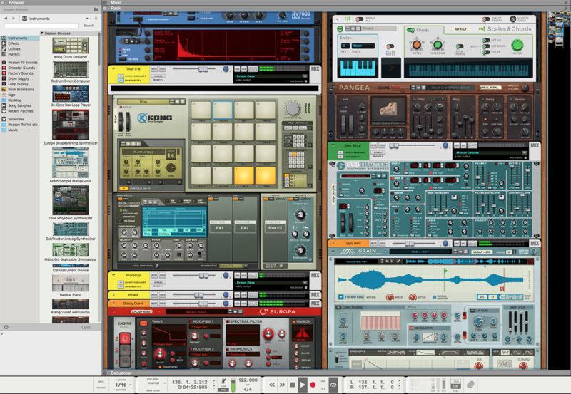 Propellerhead Reason 10 Licenca | Sonarscope Pro Audio