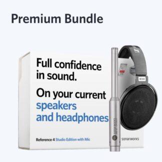 Sonarworks Reference 4 Premium Bundle box