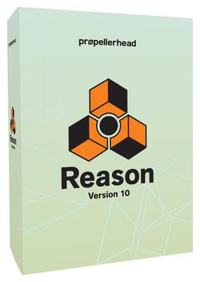 Propellerhead Reason 10 box